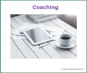 Coaching with Lisa McDonald