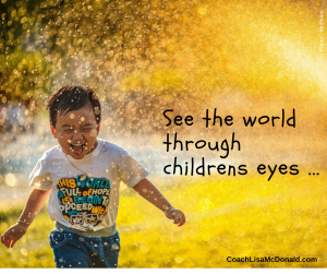 See the world through childrens eyes
