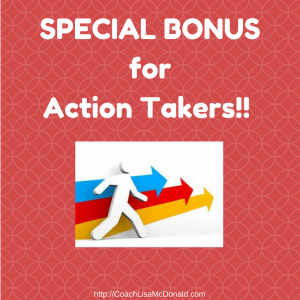 Special Action Takers Bonus