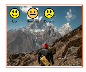 Climbing the mountain: Up Down Neutral