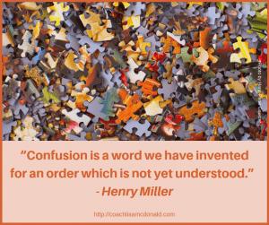 Confusion Quote