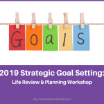 2019 Strategic Goal Setting