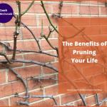 The Benefits of Pruning Your Life